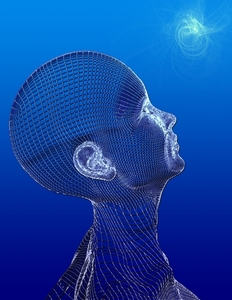 Blue Woman Neurotheo